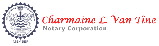 Charmaine-L-Van-Tine-Notary-Corporation-logo